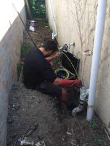 Inspecting Blocked Sewerage Pipes with Camera